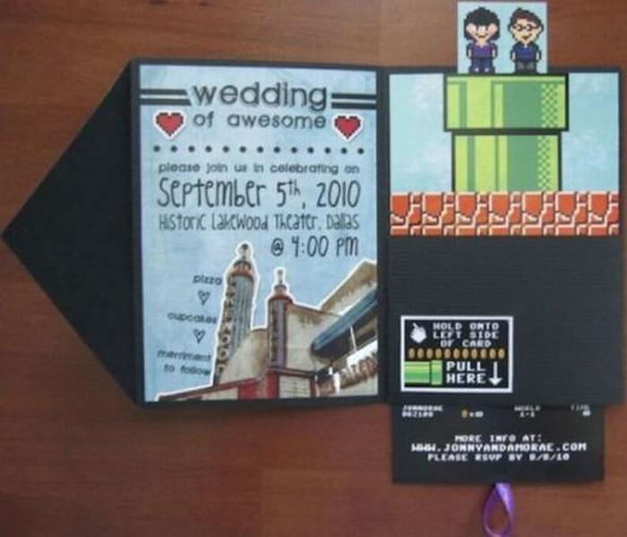 Дизайнерские пригласительные открытки на свадьбу 3 (700x599, 73Kb)