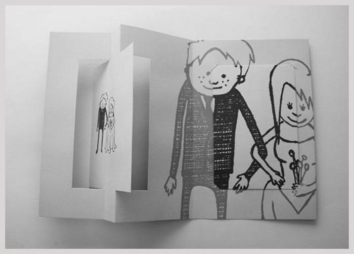 Дизайнерские пригласительные открытки на свадьбу 15 (700x502, 57Kb)