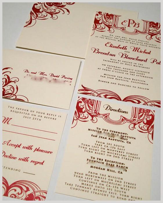Дизайнерские пригласительные открытки на свадьбу 29 (562x700, 104Kb)