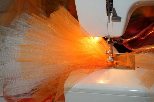 Готовые юбочки туту купить в Минске - Оранжевая лиса