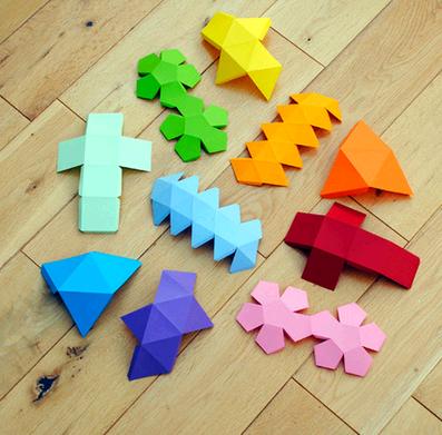 Геометрические фигуры » путь оригами.