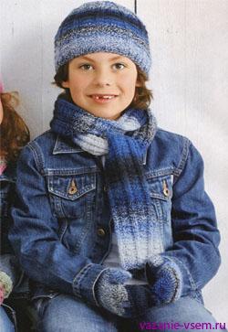 вязание зимних шапок с описанием бесплатно