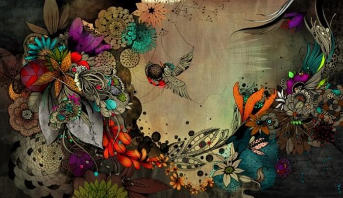 Красочные фэшн иллюстрации Linn Olofsdotter 10 (700x404, 96Kb)