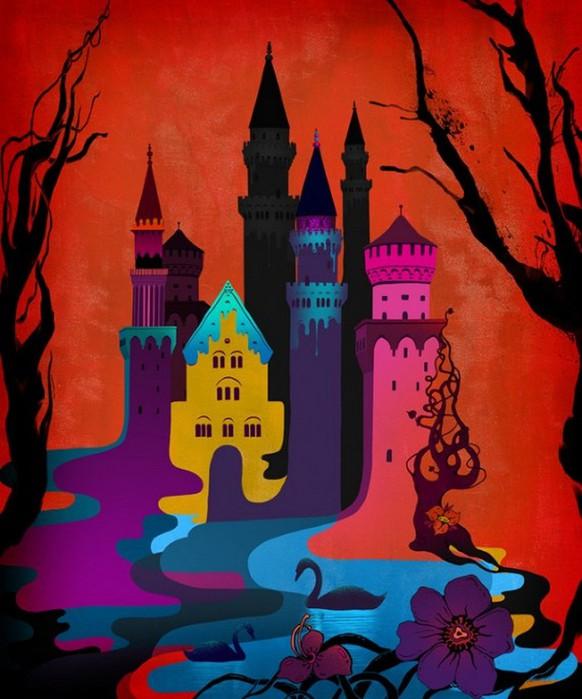 Красочные фэшн иллюстрации Linn Olofsdotter 15 (582x700, 94Kb)