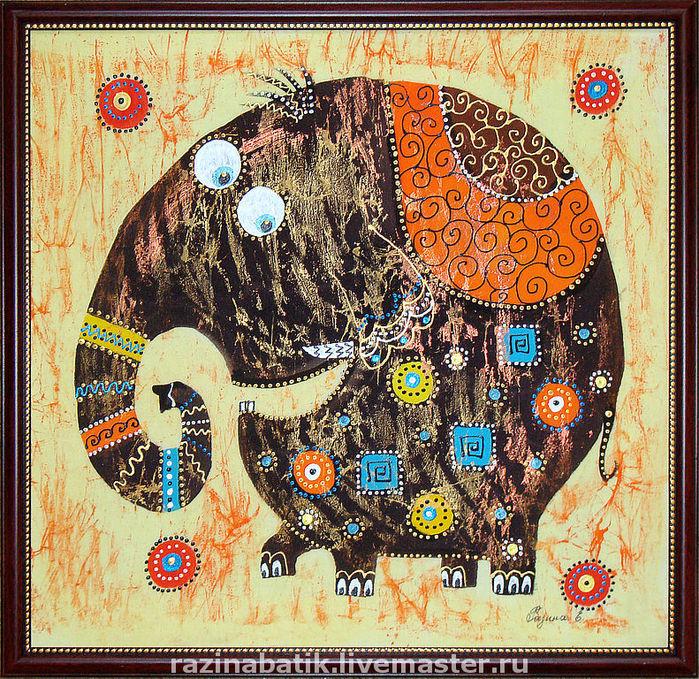 Февраля, открытка этно