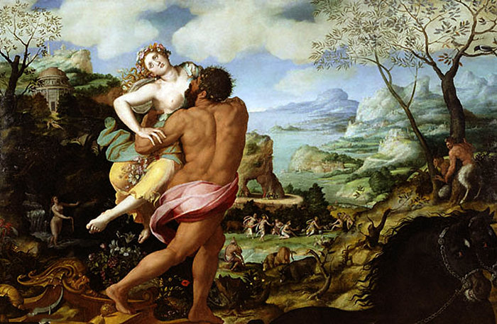 ceres' grief or selfishness over proserpina He is god over all  - the god of nature, of providence, and of grace when the repelling and disturbing power of selfishness will be annihilated.