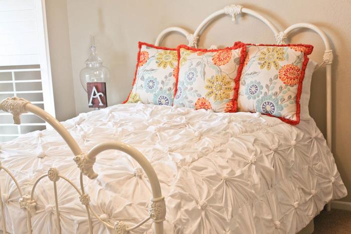 Покрывало на кровать своими руками HappyBaby.su - сайт для детей и родителей.