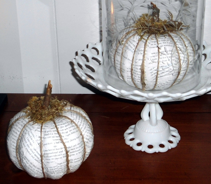 decoupage pumpkins (700x611, 295Kb)