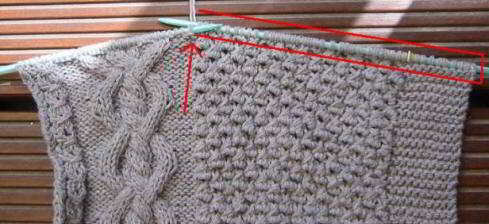 cable cardigan sideways (2) (489x224, 21Kb)