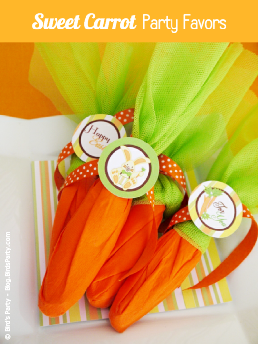 Mock faux Carrot party favor odea party supplies party accesories printables (525x700, 513Kb)