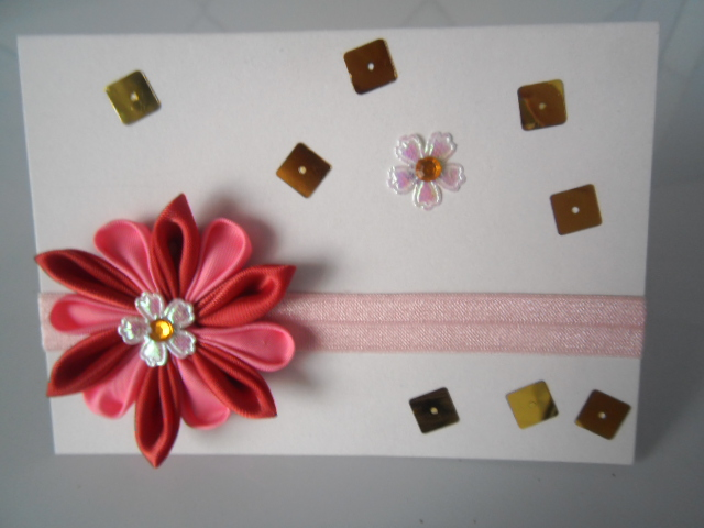 Канзаши открытки ко дню матери своими руками