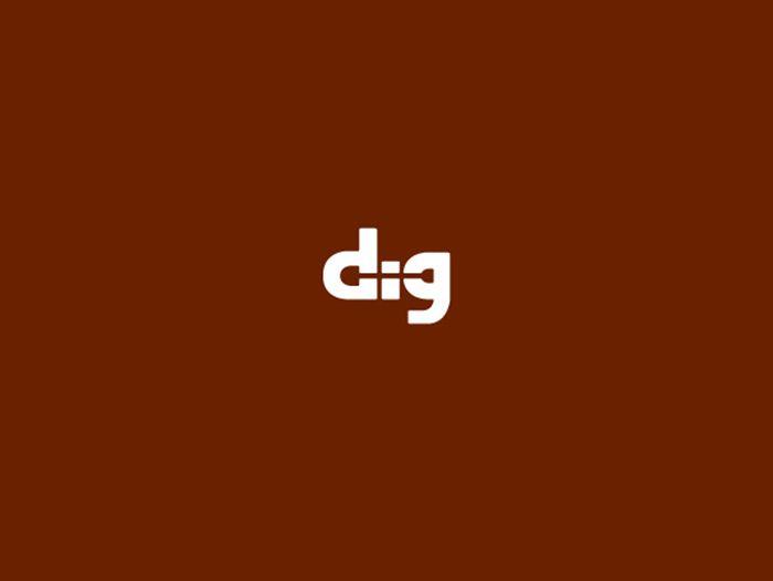 Negative space logo designers