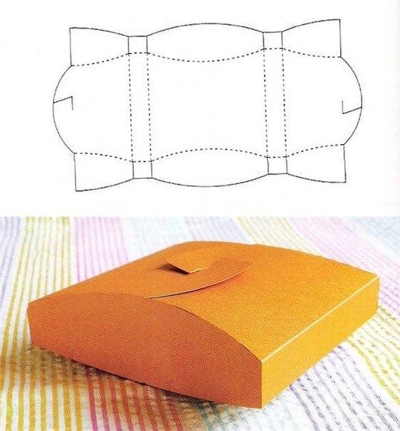 Коробочки своими руками из картона схемы - Поделки