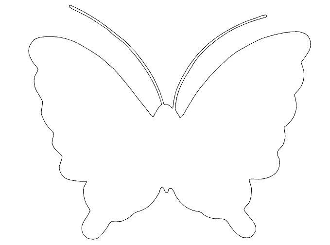 Бабочки на стену своими руками шаблоны - Делаем фенечки своими руками