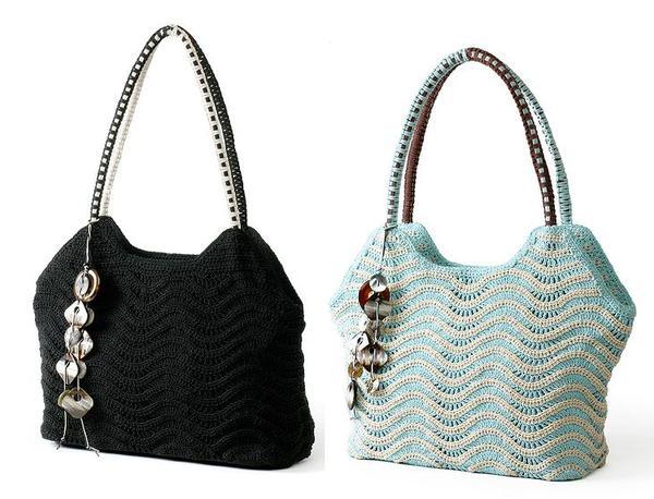 сумки спицами - Самое интересное в блогах