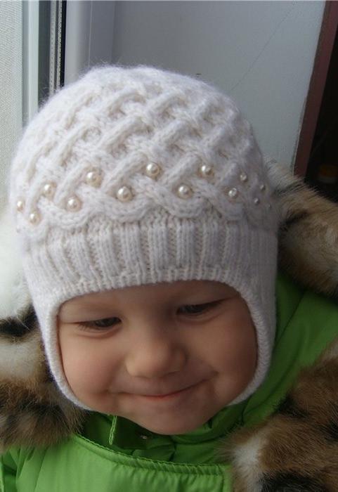шапка для хлопчика спицями  9b3bb29835c96