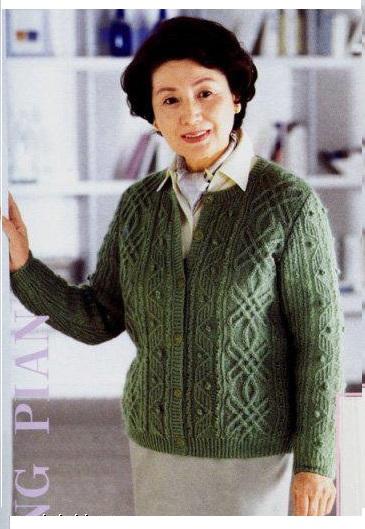 женская кофта с пуговицами вязание спицами обсуждение на
