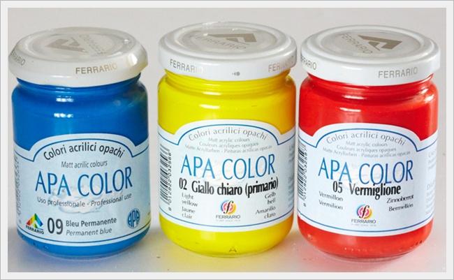 Акриловая краска цветная купить
