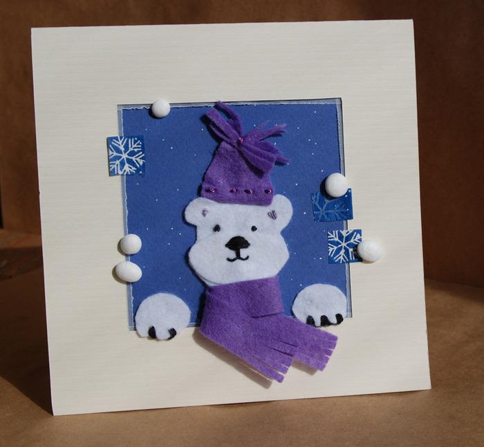 Поздравительных, делаем новогодние открытки вместе с детьми