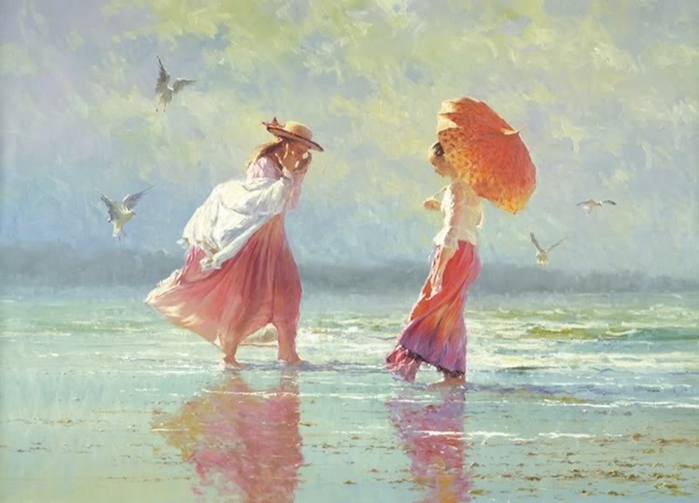 Robert Hagan 1947 - Australian Impressionist painter - Tutt'Art@ (700x503, 215Kb)