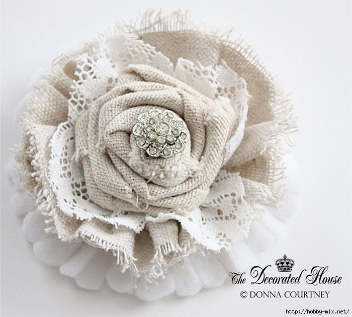 The Decorated House DIY Tutorial Fabric Flower 5 (700x630, 237Kb)