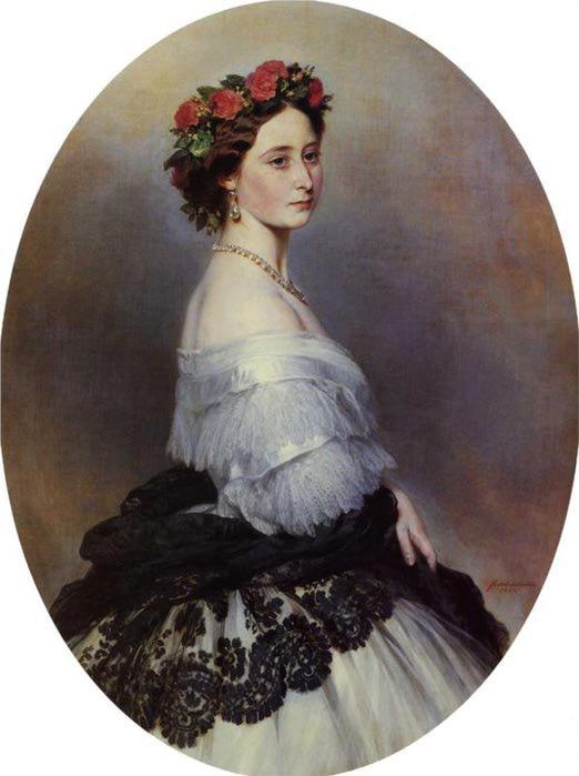 Князья Алиса Англия, 1861 (522x700, 41Kb)