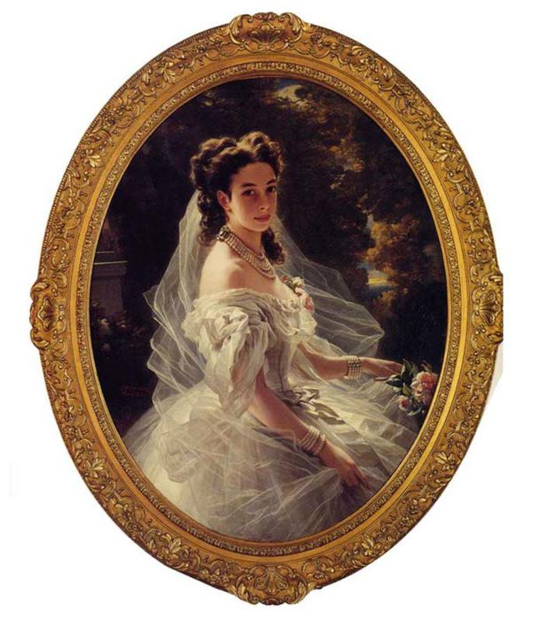 Полина Шандор, Принцессы Меттерних, 1860 (609x700, 70Kb)