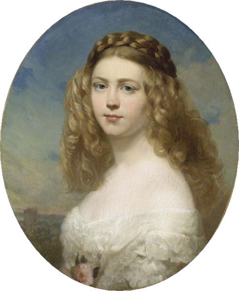 Принцесса Амелия Баварии, 1860 (493x600, 45Kb)