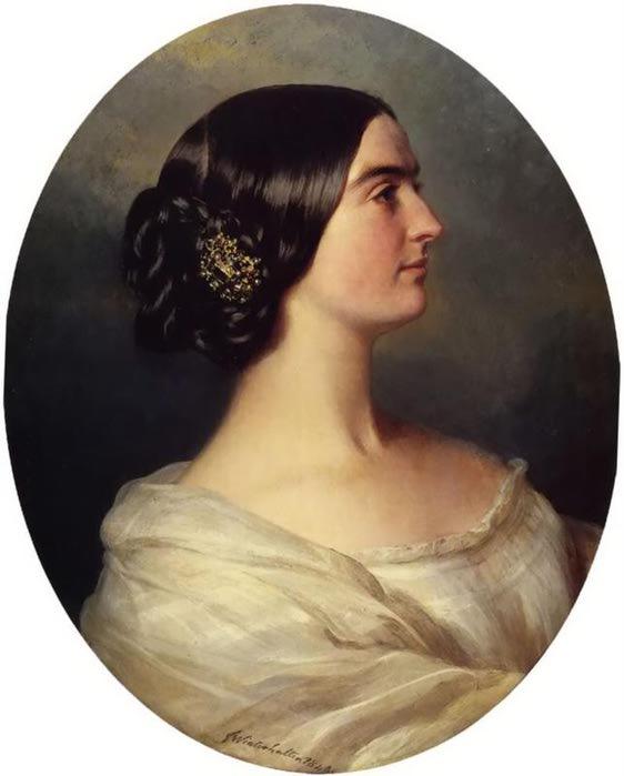Шарлотта Стюарт, виконтессы консервный, 1849 (562x700, 33Kb)