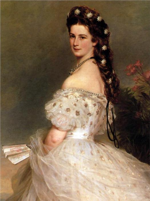 Императрицы Елизаветы Австрийской в танце платье, 1865 (525x700, 43Kb)