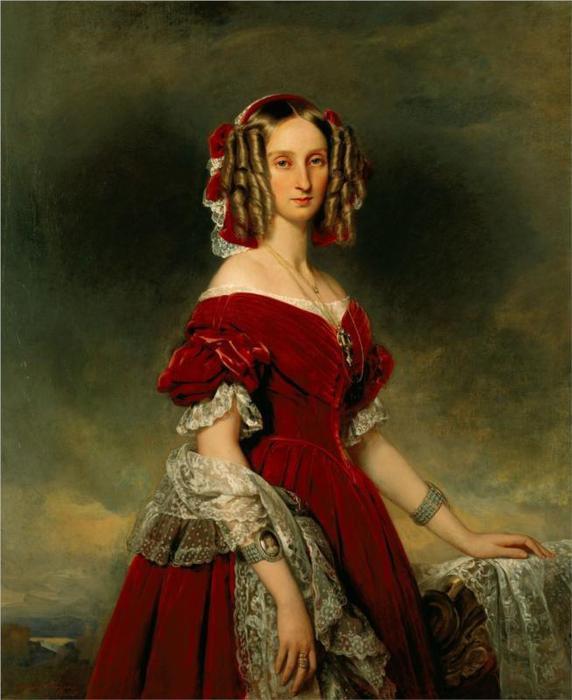 Портрет Louises фон Орлеан, 1841 (572x700, 46Kb)
