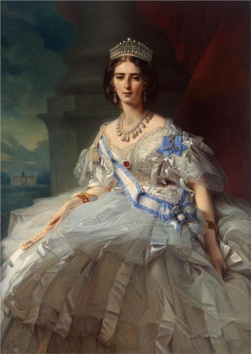 Портрет княгини Татьяны Alexanrovna Юсупова, 1858 (497x700, 39Kb)
