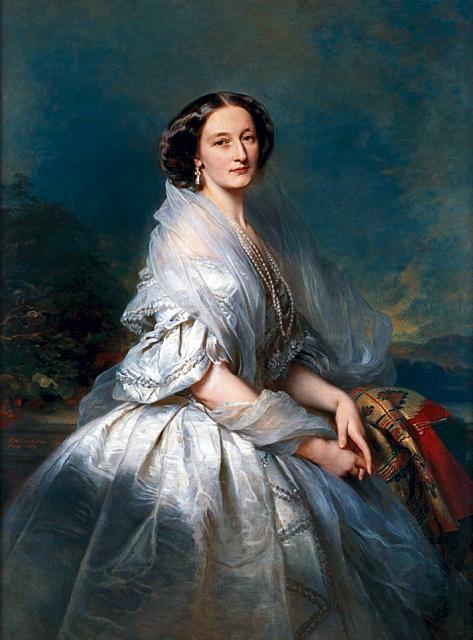 Портрет Элизы Franciszka из Branicki Krasińska, 1857 (473x640, 45Kb)
