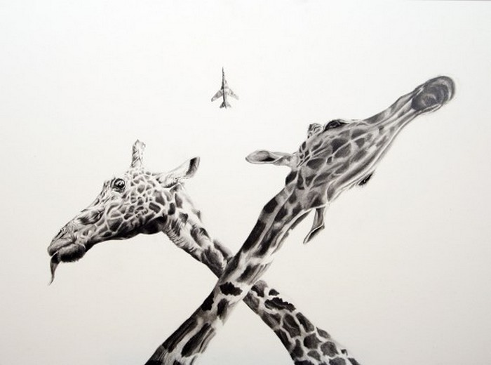 Черно белые рисунки от Martin Kalanda 5 (700x520, 45Kb)