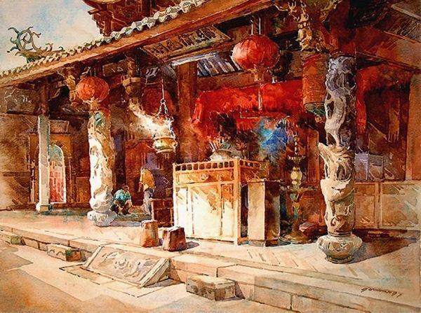 Эмоциональные пейзажи Нг Вун Лама