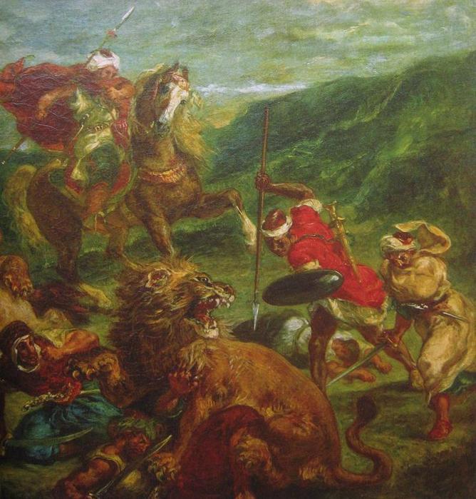 лес охота на львов в марокко картинки всего