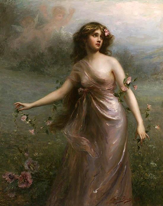 ae06e2fc3 Женская красота в картинах Эдуарда Биссона. Обсуждение на LiveInternet -  Российский Сервис Онлайн-Дневников