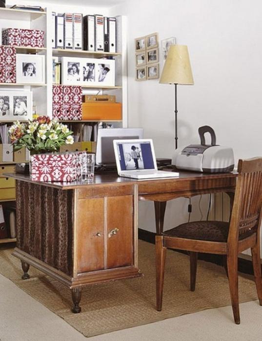 Оформляем рабочее место дома в винтажном стиле 6 (537x700, 333Kb)