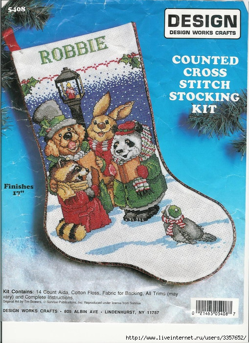 Robbie stocking picture (509x700, 359Kb)