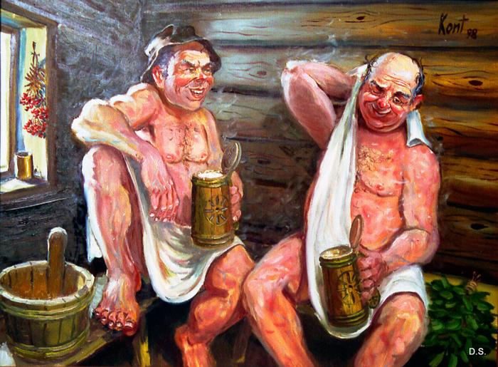 русские женщины фото в бане