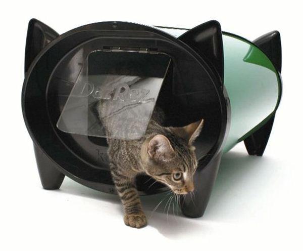 Креативные дома для котов21 (600x496, 29Kb)