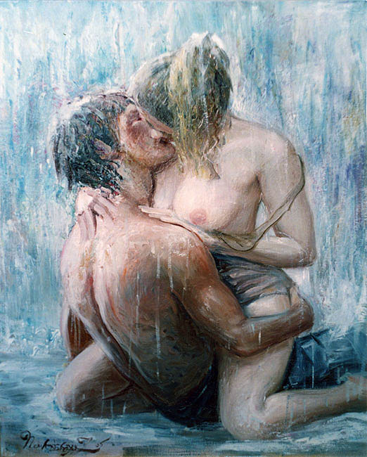 Порно Секс Под Дождем
