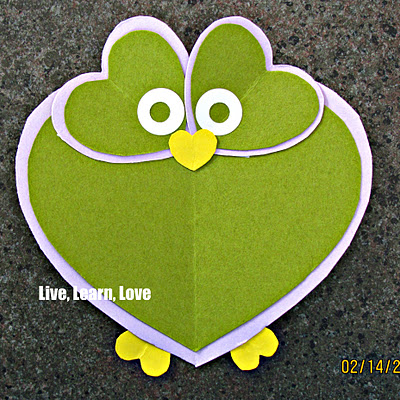 owl heart valentines day card (400x400, 82Kb)