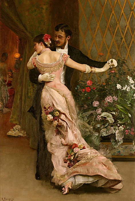 Rogelio de Egusquiza.the end of the ball (471x700, 307Kb)