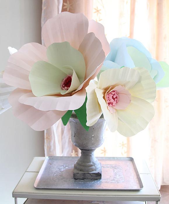 Букеты из бумажных цветов своими руками - Поделки