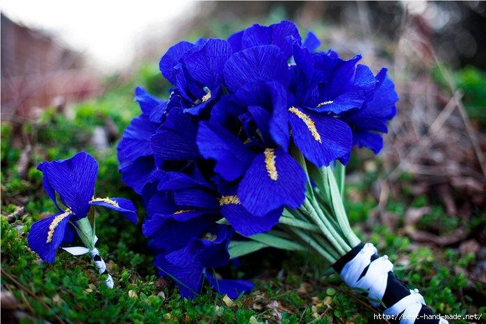 Цветы из листьев своими руками - Изготавлимаем цветы