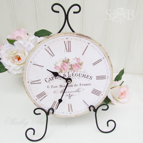 Shabby Art Boutique French clock 1[4] (500x500, 405Kb)