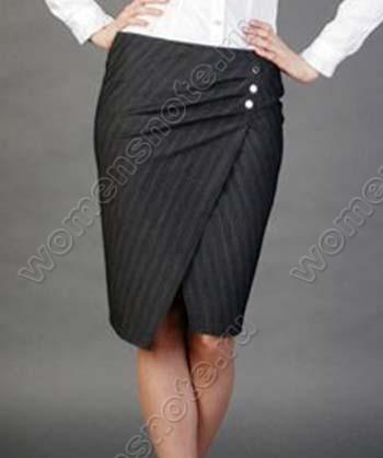 Как сшить юбку с запахом Мода Женский сайт
