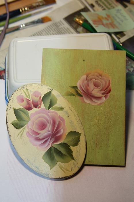 Ютюб мастер класс по росписи акрилом поделка #1