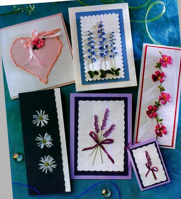 Картинки, вышивка идеи для открытки